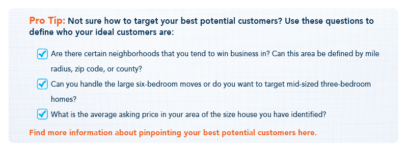 Pro Tip: How to Target Your Best Customers