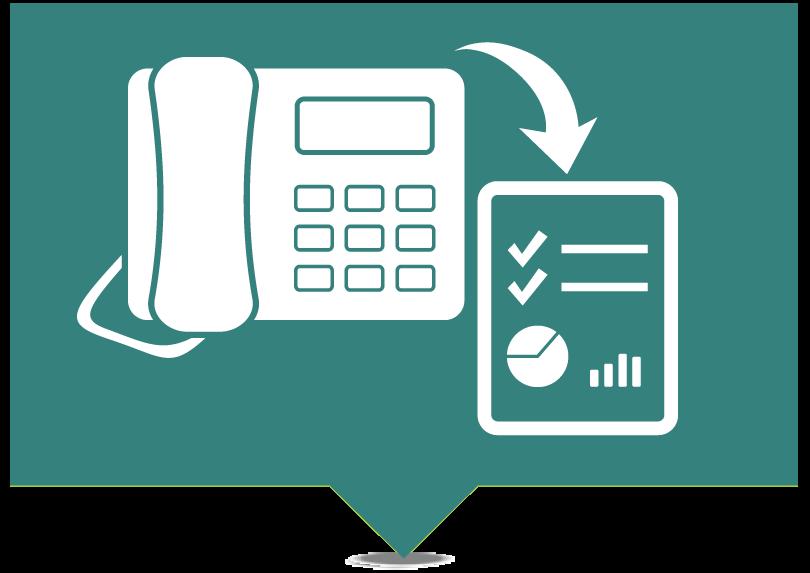 Callerinfo calltrack icon
