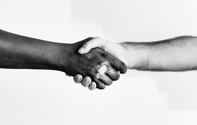 Agreement black and white color 1389098 2