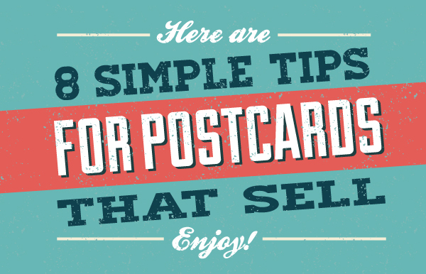8 Simple tips for postcards that sell