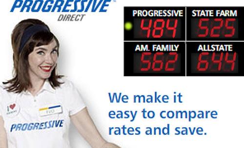 progressive ad campaign