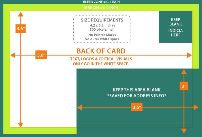 postcard design specs moving company resources. Black Bedroom Furniture Sets. Home Design Ideas