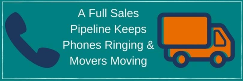 A full sales pipeline keeps phones ringing