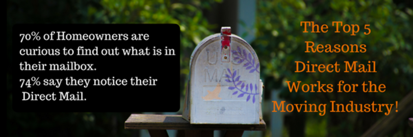 Reasons direct mail works for the moving industry