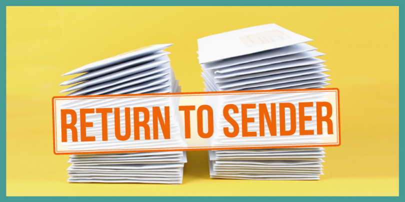 Why return mail happens how to reduce it